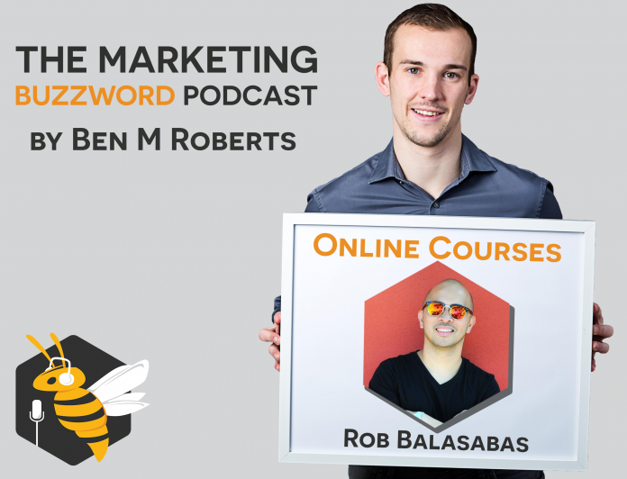 Online Courses - Rob Balasabas - Thinkific - Marketing Buzzword